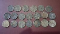 Lot 20 Pieces JAMBI TIN PITIS SULTAN TAHA MONEY VOC Coin GREAT Condition