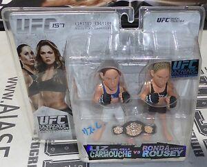 Liz Carmouche Signed UFC 157 Round 5 Action Figure PSA/DNA COA w/ Ronda Rousey