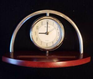 Bulova B2295 Executive Desk Clock Quartz