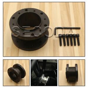 HQ Black 2''/50mm Boss Kit Spacer For Universal OMP Aftermarket Steering Wheel