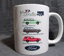 1978 Ford Pinto Wagon Line Coffee Cup, Mug - New - Custom Design