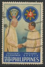 Philippines 1960 U.S. President Dwight D. Eisenhower State Visit (used)