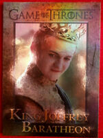 GAME OF THRONES Season 4 FOIL PARALLEL Card #36 - KING JOFFREY BARATHEON