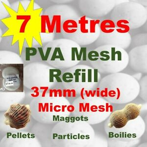 Wide 35mm PVA Mesh Refill 20 metres Free P/&P