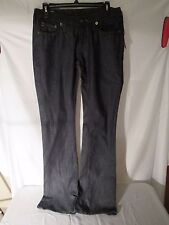 womens blue jeans four stroke low rise boot cut size 28 new NWT