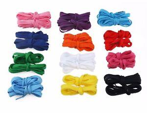 Lacci Scarpe colorati piatti, Shoes laces flat, Stringhe colorate cm 120*1