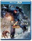 Pacific Rim (Blu-ray/DVD, 2013, 3-Disc Set, Includes Digital Copy UltraViolet 3D/2D)