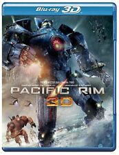 Pacific Rim 3D [BR3D + Blu-ray Movie, Action Adventure, Region A, 3-Disc] NEW