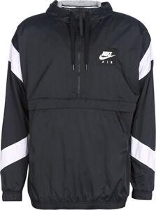 Nike Air Mens Hooded Jacket Black White Size XL