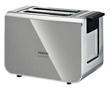 Siemens TT86105 Toaster 860 Watt für 2 Scheiben Toast, wärmeisoliertes Gehäuse