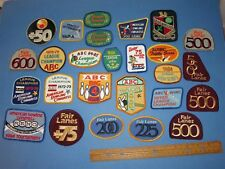 26 Vtg Lot 70's 80's Bowling Embroidered Cloth Patch Collectible