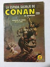 The Savage Sword Of Conan 4 Mexican Edition Conan 1 Novedades Editores