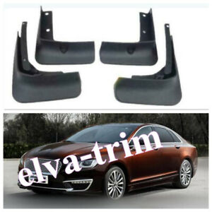 2014-2020 For Lincoln MKZ Mud Fender Flaps Splash Guards Mudflaps Mudguards 4X