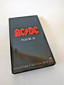 ♥ AC7DC PLUG ME IN 3 DVD SET + POSTER + BOOKLET COLLECTOR'S EDITION 2007