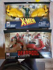 ?MARVEL LEGENDS PROFESSOR X, AND DEADPOOL X-MEN, NIB, NEVER BEEN OPENED ?
