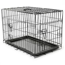 Hundetransportbox Größe M Hundebox Hundekäfig Transportbox Gitterbox Drahtkäfig