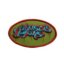 Beastie Boys Logo Embroidered Iron On Patch - 052-W