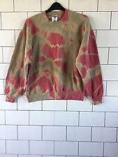 Unisex Urban Vintage Retro Dip Dye Festival De Lavado ácido Sudadera Sweater L #5