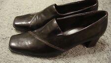 Liz Baker Dark Brown Heels Pumps Shoes Women's Sz 8M~ Pre-owned  127