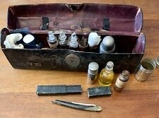 French Nurse's Travel Apothecary Kit Victorian Medical Druggist Pharmacy