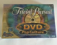 TRIVIAL PURSUIT  DVD POP CULTURE  BOARDGAME UNUSED ADULT