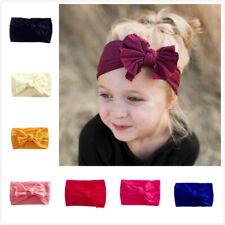 Newborn Baby Rabbit Headband Cotton Elastic Bowknot Hairband Girls Headwrap Band
