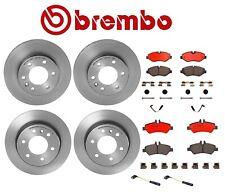 Brembo Front & Rear Kit Brake Disc Rotors Ceramic Pads Sensors For MB NCV3 Dodge