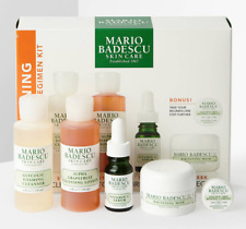 MARIO BADESCU The Brightening Kit -Cleanser Lotion Vitamin C Serum Mask Glycolic