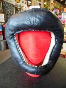 Vintage Wilson Lace-Up Leather Sparring Head Gear