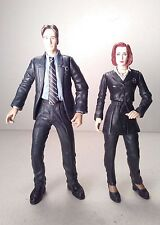 mcfarlane MULDER AND SCULLY fight the future X-FILES tv series 1998 5in. #4173