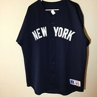 Russell Athletic Vintage 90s New York Yankees MLB Baseball Jersey Men's Large