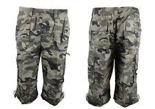 Camouflage Herren-Shorts & -Bermudas aus Polyester mit Regular