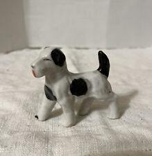 Vintage Porcelain Springer Spaniel Dog Figurine Japan