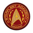 Star Trek Starfleet Academy Command Uniform Cosplay HOOK FASTENER Patch