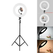 LED Photo Studio Ring Video Light Dimmable Lighting Beauty Make Up Light & Stand