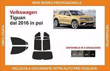 pellicola oscurante vetri volkswagen tiguan dal 2016 kit completo