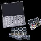 28-Slots Adjustable Storage Box Plastic Home Organizer Jewelry Beads Boxes Case