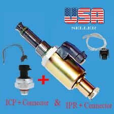 Injection Pressure Regulator & Timing Sensor with connector Fit Ford V8 7.3L E F