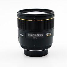 Sigma EX 85mm 1:1,4 ASP HSM DG - Objektiv für Nikon F - NEU