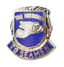 Merchant Navy Mission To Seafarers Pin Badge
