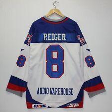 Game Worn Autographed Braden Reiger Melville Millionaires SJHL Jersey Size 54