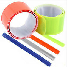 1 Pcs Bike Bicycle Reflective Safety Pant Band Leg Strap Belt liau