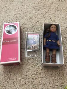 "American Girl Mini 6"" Doll Saige New In Box Sealed. 2013 Girl of the year"