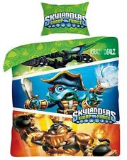 Official Skylanders Swapforce Single Panel Duvet Cover Bed Set New Gift
