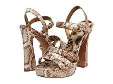 NEW Sam Edelman Taryn Metallic Python  stunning  Sandals SIZE US 10.5