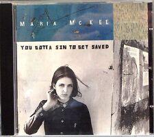 Maria McKee - You Gotta Sin to Get Saved (CD 1999)