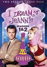 I Dream of Jeannie Seasons 1 - 2 One and Two (DVD) stars Barbara Eden Genie USED