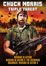Chuck Norris: Triple Threat (REGION 1 DVD New)