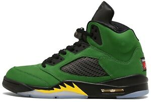 Air Jordan 5 Oregon Ducks Retro Apple Green CK6631-307