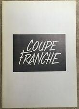 Dossier de Presse COUPE-FRANCHE Jean-Pierre Sauné SERGE REGGIANI Jézéquel *d